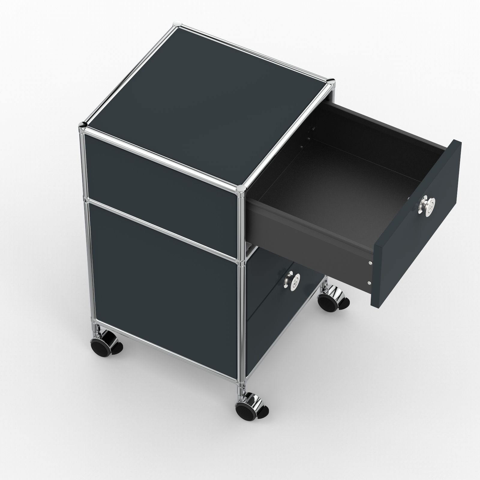 Rollcontainer Design Rollcontainer 40cm 1xes 1xds Ahr Anthrazitgrau Ral