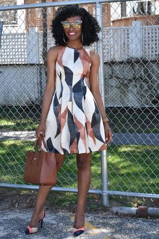 Patterned-HM-dress-Zara-colorblock-shoes8