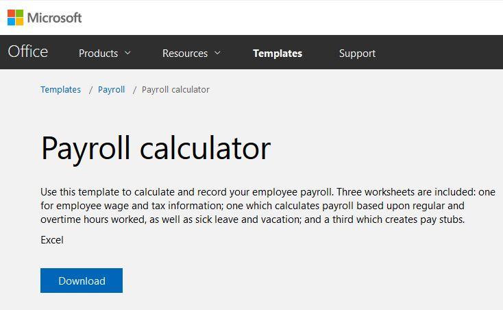 Preparing Payroll in Excel - Onsite Software Training from Versitas - payroll hours calculator