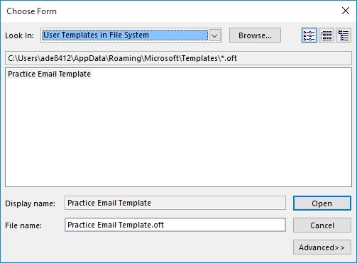 Save Time with Outlook Email Templates - Onsite Software Training