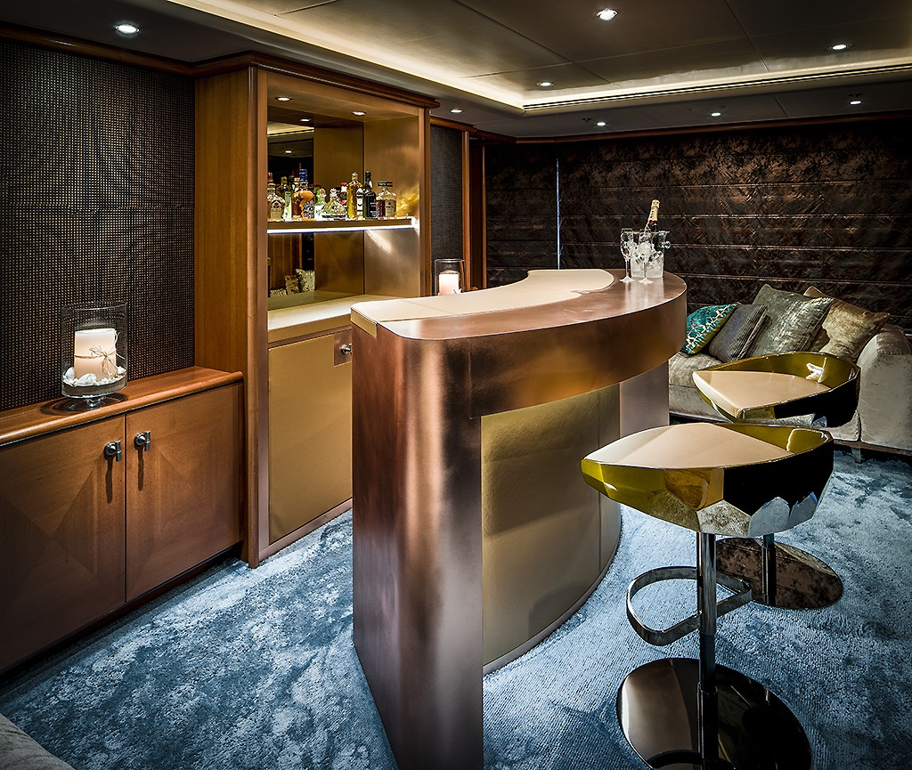 Oosters Interieur Interior Design Feadship Mega Yacht