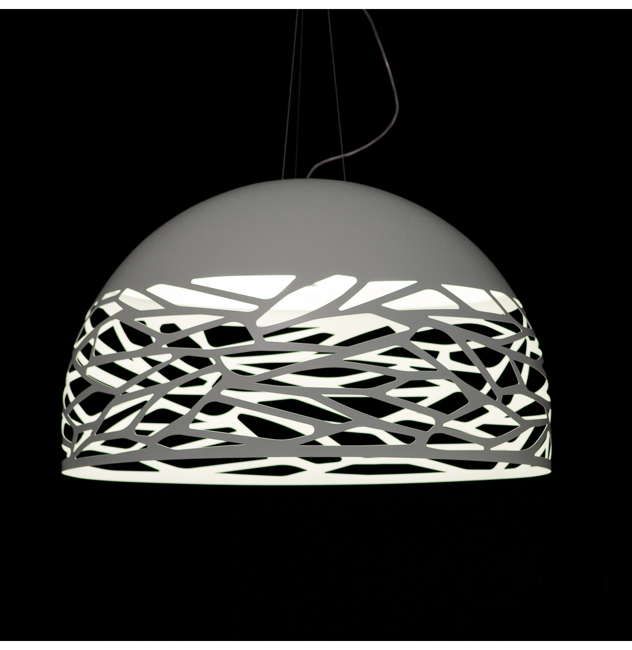 Suspension Luminaire Grand Diametre Studio Italia Hanglamp Kelly Dome Versteeg Lichtstudio