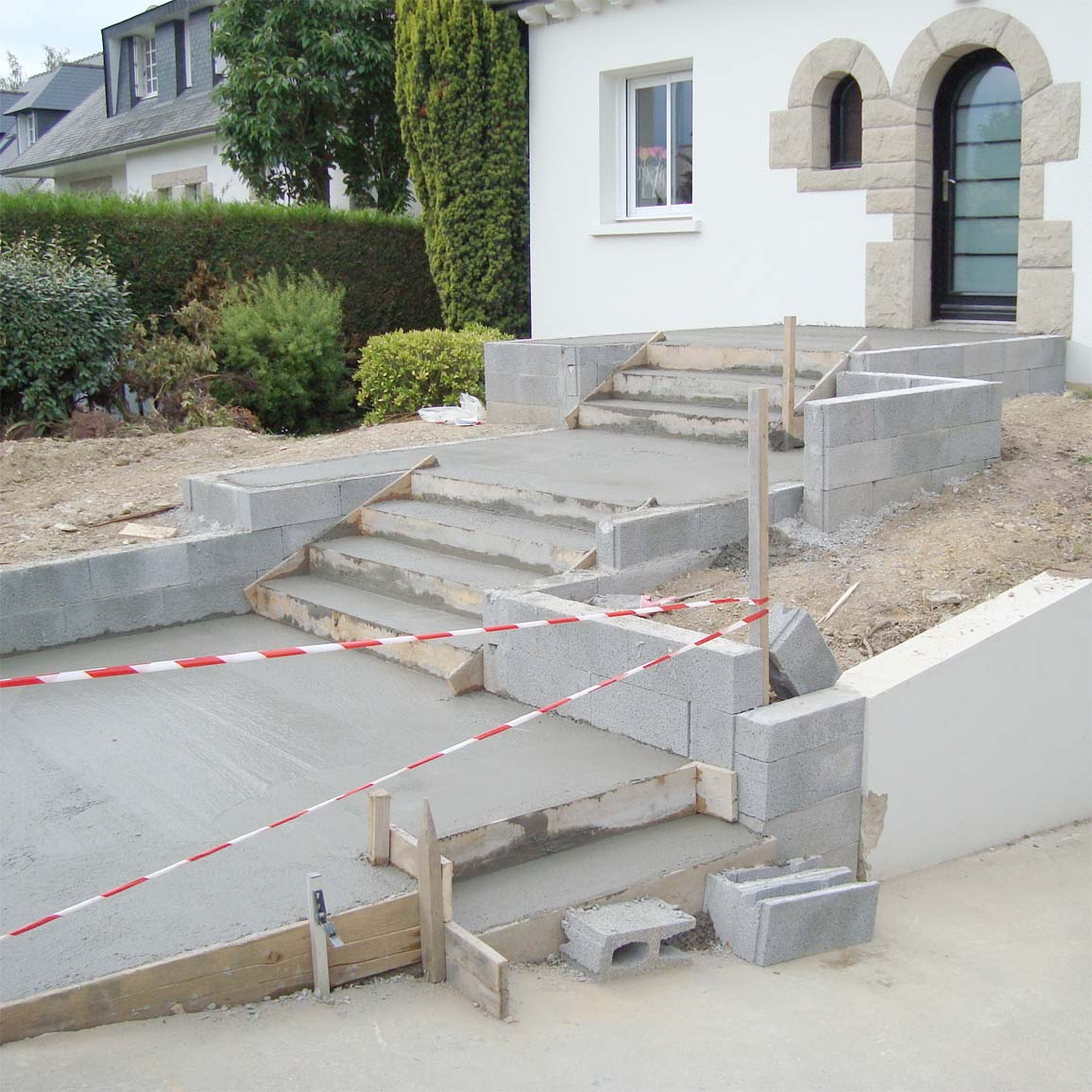 Fondation Terrasse Beton Terrasse En Bton Dsactiv 12 Messages Comment Raliser Une