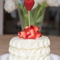 Gâteau aux Fraises ou Fraisier Américain (Fête des mères )