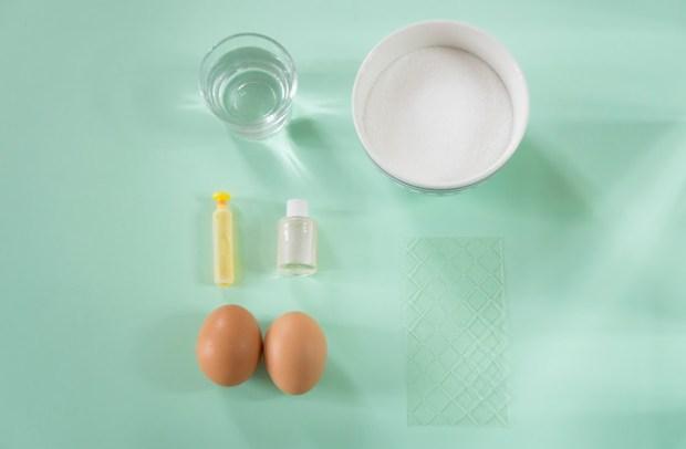 ingrédients Marshmallow tangram