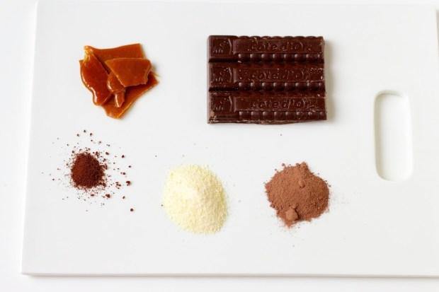 Ingrédient pour Mix pour chocolat chaud et poudre de caramel