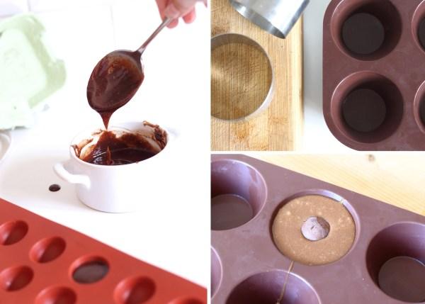 coulant chocolat et beurre de noisettes - coeur coulant
