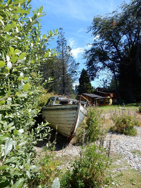 Boot in de tuin, hoe relaxt