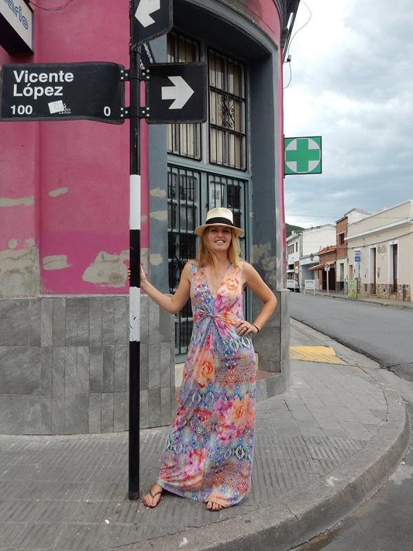 Salta, Argentina (dress: Tramontana - - - - - hat: Ruby Tuesday