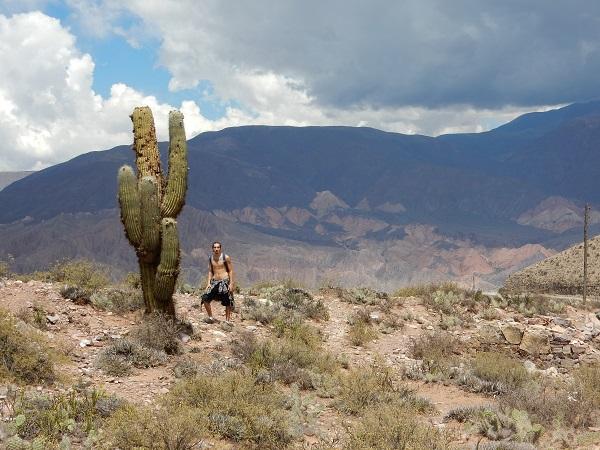 Juan en de cactus