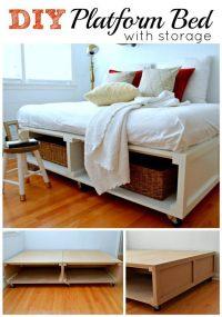 14 Amazing DIY Platform Bed Ideas  VeryHom