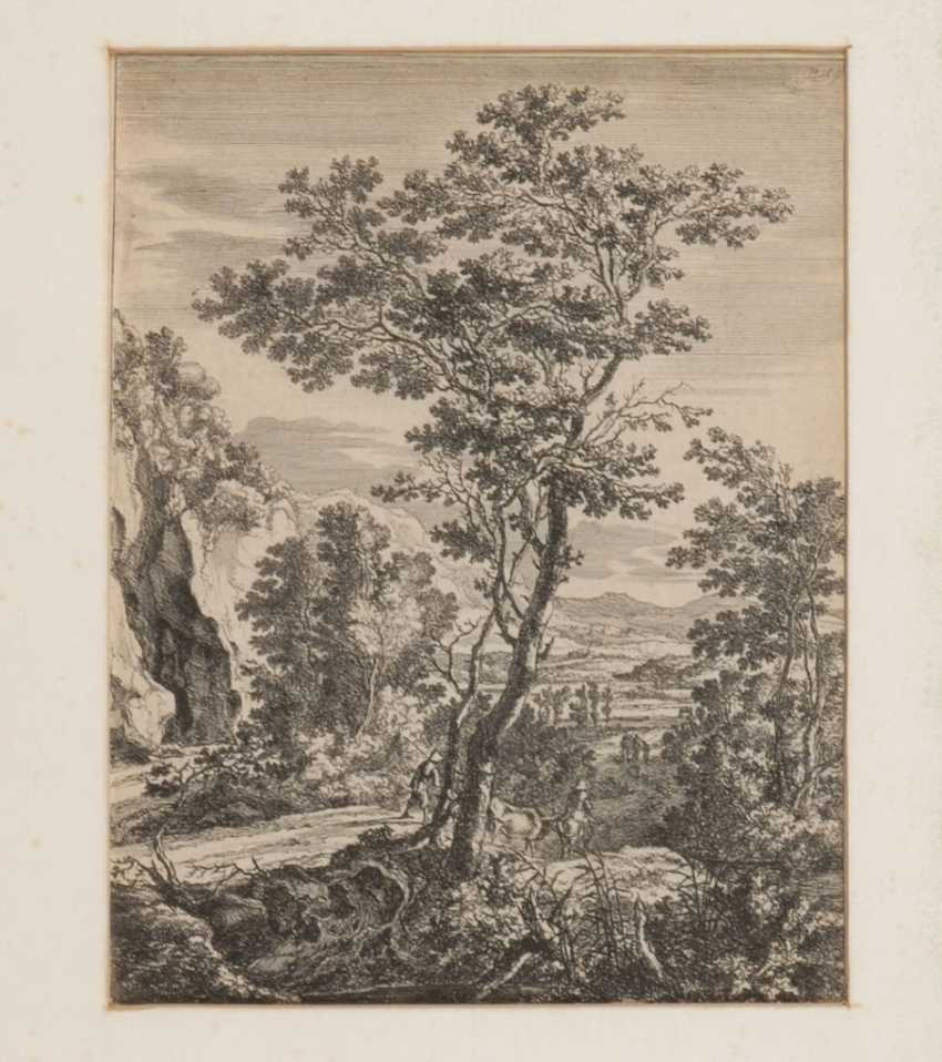 Paspartoe Hema Lot 491 Both Jan Landschaft From The Catalog