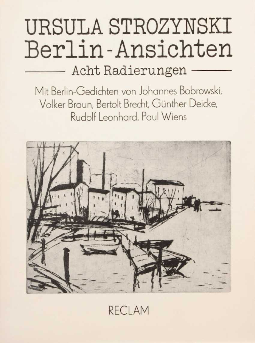 Anderle Berlin Lot 672 Strozynski Ursula Berlin Views From The Catalog