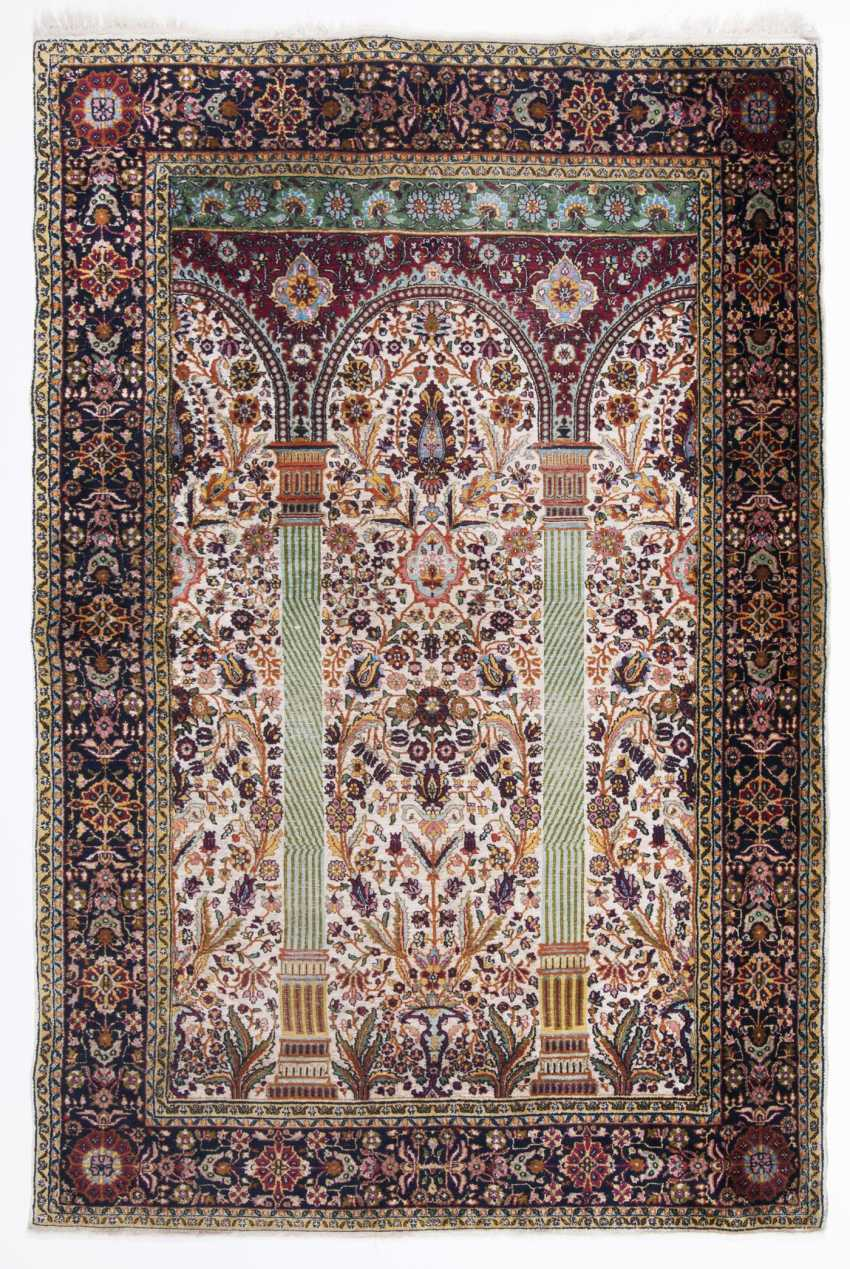 Design Stuhl Toro Lot 248 Silk Prayer Rug Hereke From The Catalog