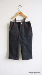 Boy&#8217;s cropped jeans