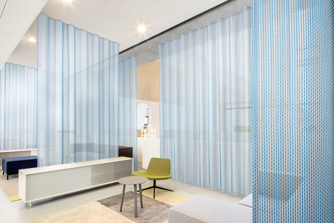 Acoustic Curtain Wall Colourful Acoustics