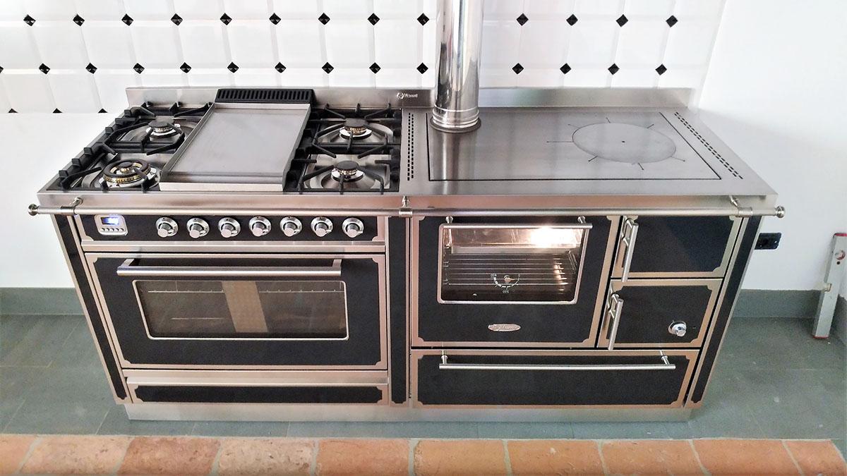 Cucine A Legna E Gas Combinate Prezzi | Cucine A Legna Demanincor S P A