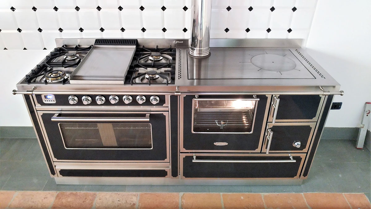 Cucina A Legna Prezzi | Stufa Ad Accumulo Offerte E Prezzi ...