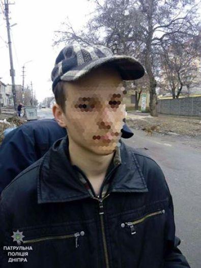 грабіж_Дніпро