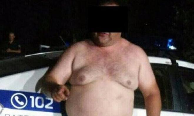 Кривой Рог_скандал с полицией
