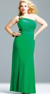 vestidos de fiesta para gorditas verde (4)