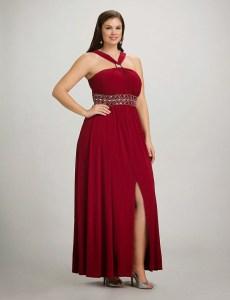 cómo reutilizar vestidos de fiesta para gorditas (8)