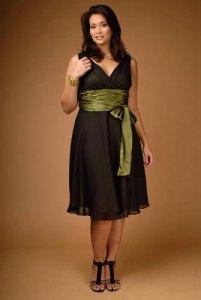 vestidos de fiesta sencillos para gorditas (7)