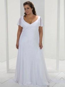 vestidos de fiesta para gorditas con mangas (10)