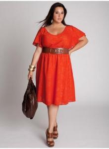 Vestidos rojos para gorditas (13)