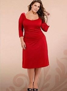 Vestidos rojos para gorditas (5)