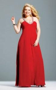 Vestidos rojos para gorditas (7)