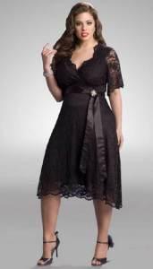 Hermosos vestidos de fiesta para gorditas a la moda (13)