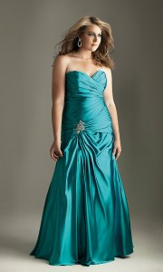 Imágenes de vestidos de noche para gorditas (5)