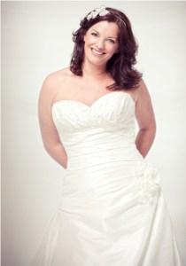 Hermosos vestidos para novias gorditas (1)