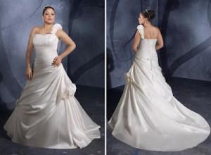 Hermosos vestidos para novias gorditas (5)