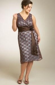 15 opciones de hermosos y sencillos vestidos de fiesta para gorditas  (11)