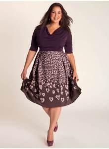 15 opciones de hermosos y sencillos vestidos de fiesta para gorditas  (6)