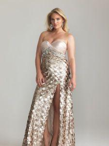 15 opciones de vestidos de fiesta para gorditas brillantes (12)