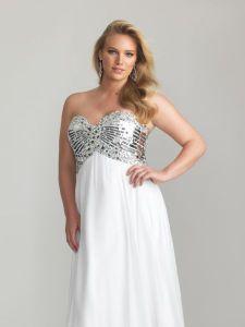 15 opciones de vestidos de fiesta para gorditas brillantes (4)