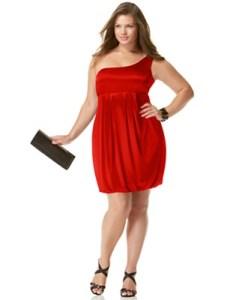 15 opciones de vestidos de fiesta para gorditas cortos para Navidad (5)