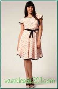 15 opciones de vestidos de fiesta para gorditas de estilo vintage (1)