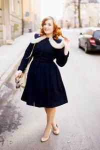 15 opciones de vestidos de fiesta para gorditas de estilo vintage (4)