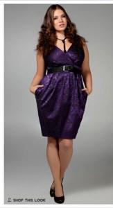 15 opciones de vestidos de fiesta para gorditas especiales para año nuevo (5)