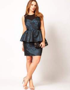 15 opciones de vestidos de fiesta para gorditas largos para Navidad (9)