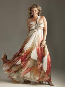 15 opciones de vestidos floreados de fiesta para gorditas (12)