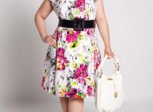 15 opciones de vestidos floreados de fiesta para gorditas (14)
