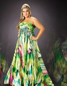 15 opciones de vestidos floreados de fiesta para gorditas (2)