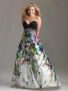 15 opciones de vestidos floreados de fiesta para gorditas (7)