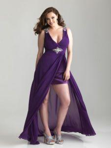 12 Hermosos vestidos de terciopelo para gorditas (9)
