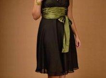 13 Bellos vestidos para gorditas y bajitas (15)